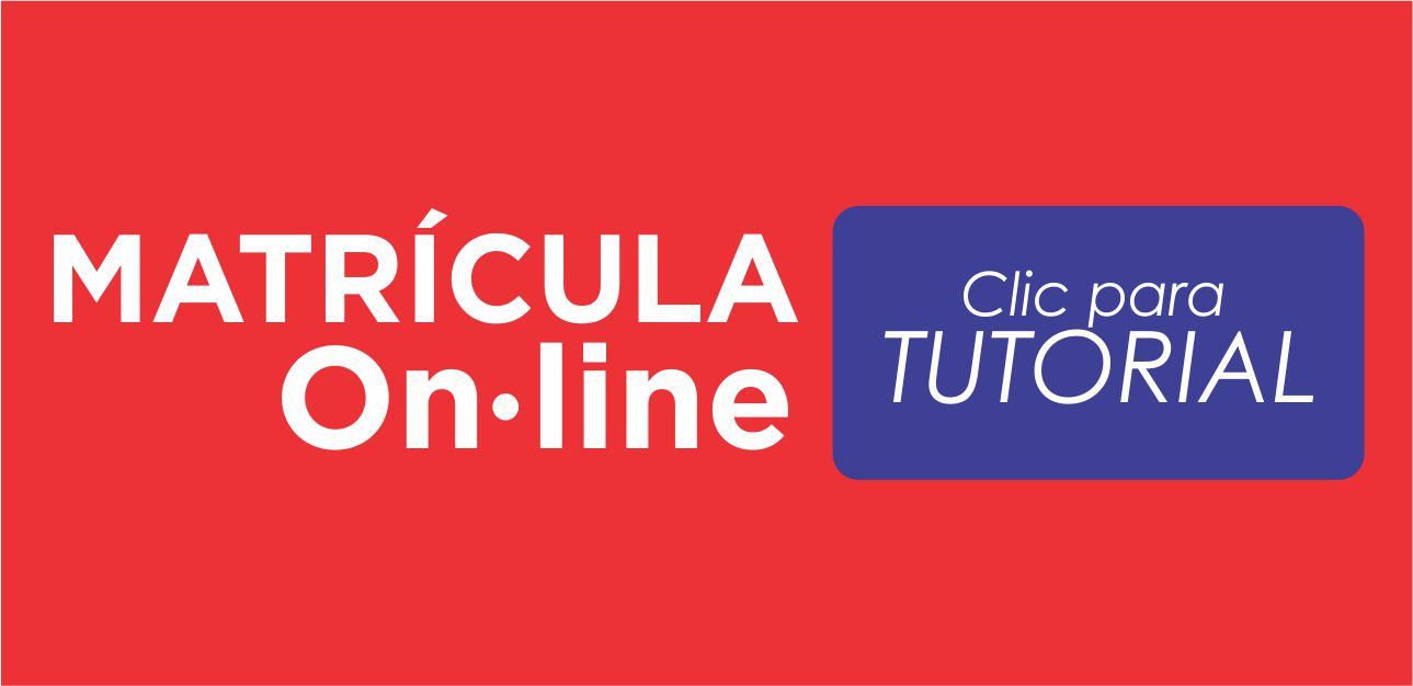 Tutorial matrícula On-line